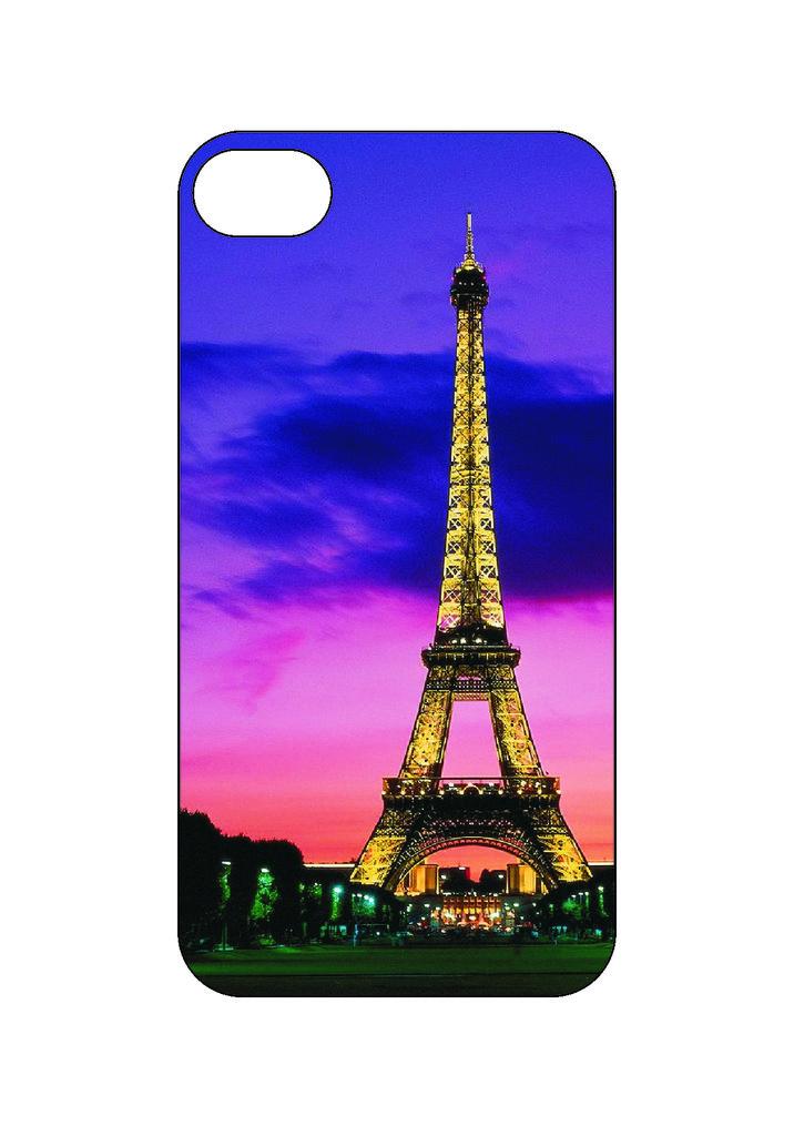 Выбери готовый дизайн для своей модели телефона: Paris в NeoPlastic