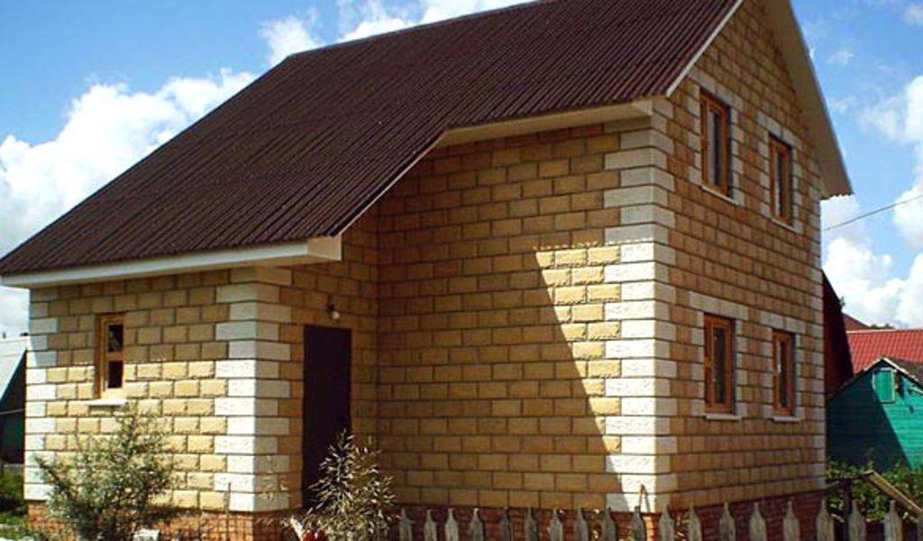 Строительство: Блочный дом (чистовой вариант без отопления) в А-Строй