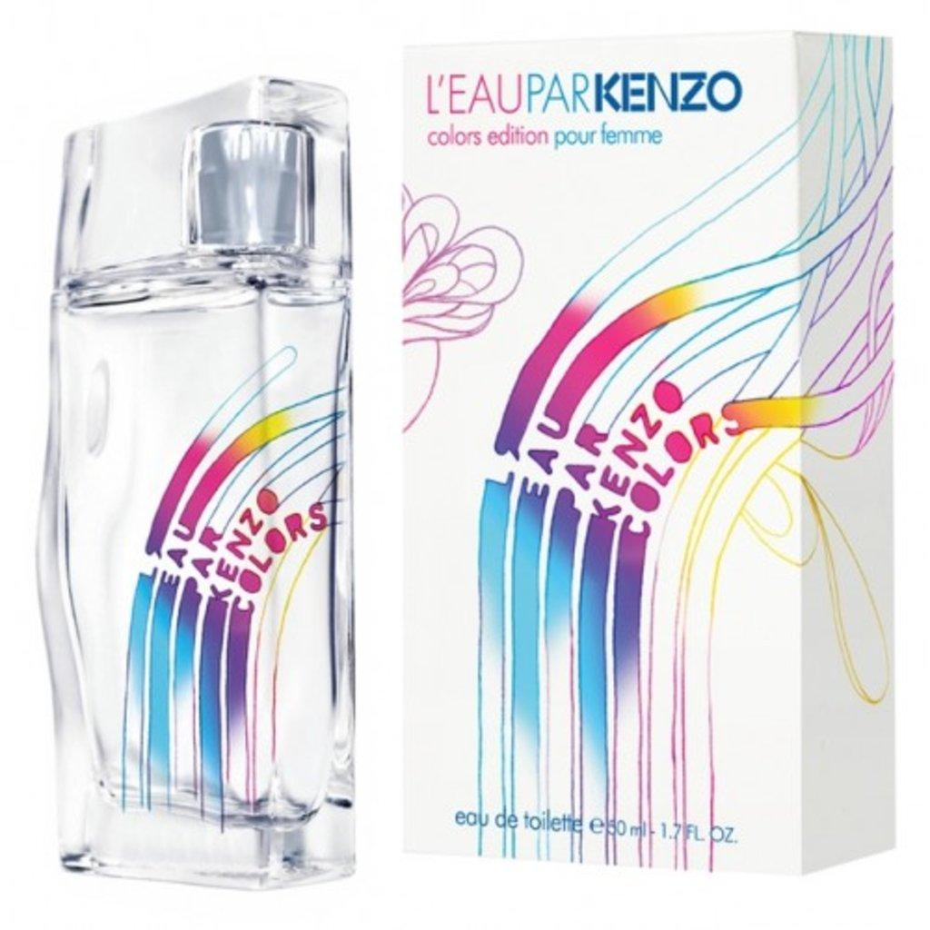 Kenzo: Туалетная вода Kenzo L'eau Par colors edt м 50 ml в Элит-парфюм