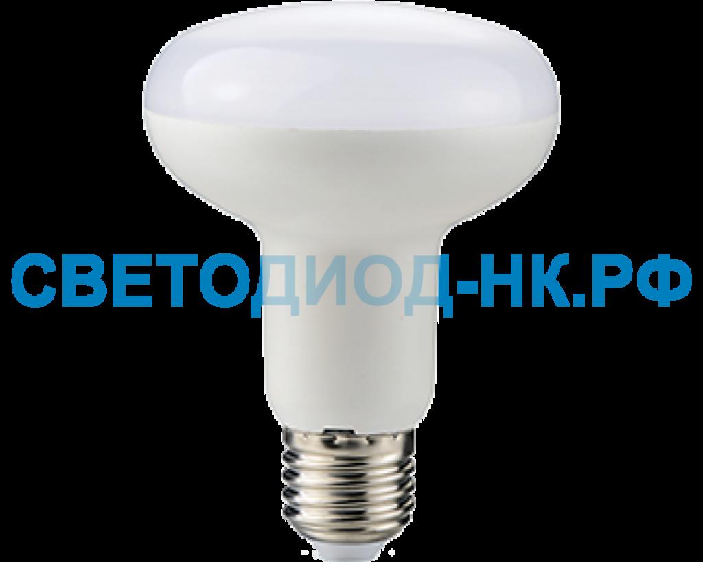 Цоколь Е27: Светодиодная лампа Ecola R80 E27 17W 2800K 2K 114x80 пласт./алюм. Premium G7NW17ELC в СВЕТОВОД