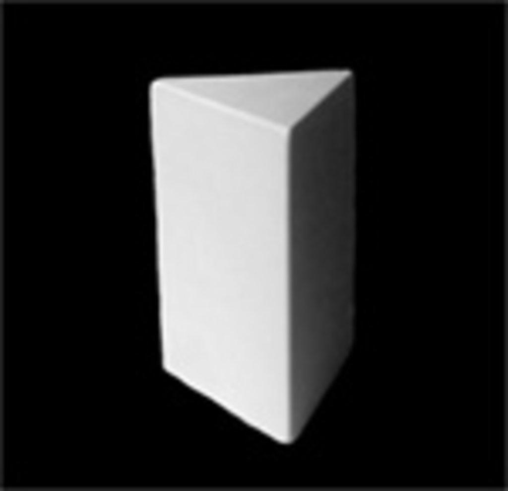Гипсы: Призма 3-гранная в Шедевр, художественный салон