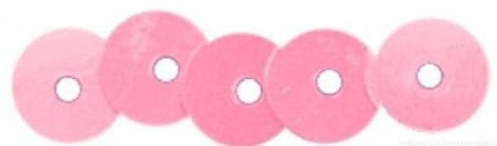 Плоские 6мм.: Пайетки плоские 6мм.упак/10гр.Астра(цвет:А0100 св.розовый матовый) в Редиант-НК