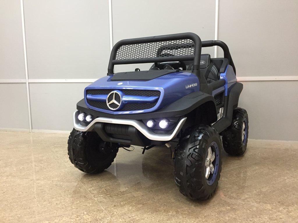 Джипы: Mercedes-Benz Unimog Concept в SUPER CARS, детские электромобили