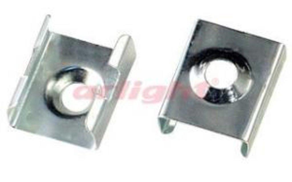 Алюминиевый профиль: Крепеж монтажный для MIC, PDS-R, PDS-S цинк в СВЕТОВОД
