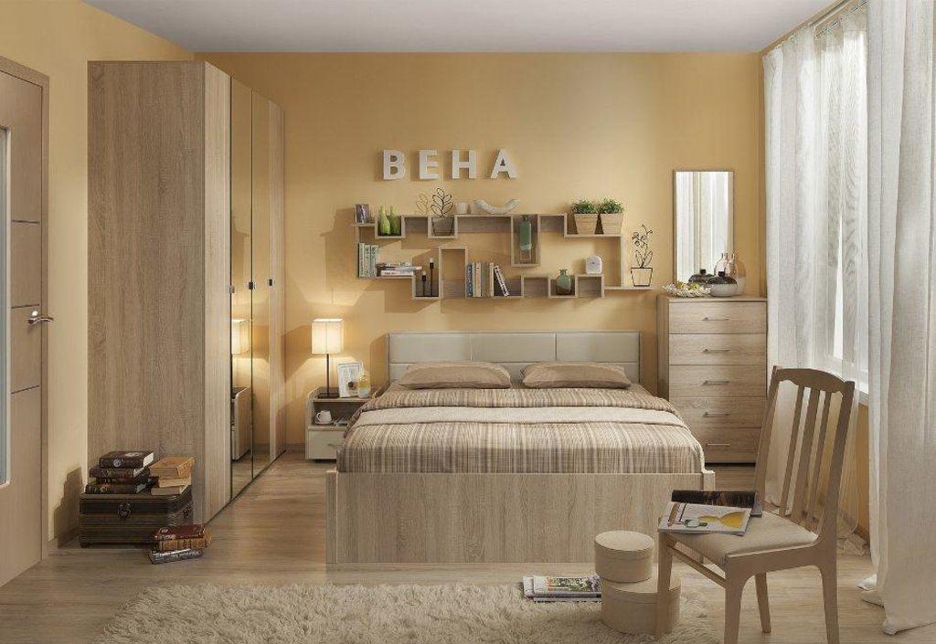 Модульная мебель в спальню Вена: Модульная мебель в спальню Вена в Стильная мебель