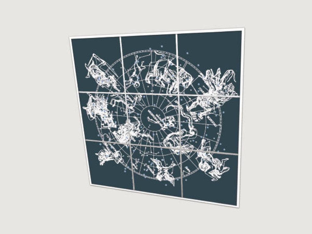 Зеркальные потолоки: Серия «Полушария» в Мир Потолков