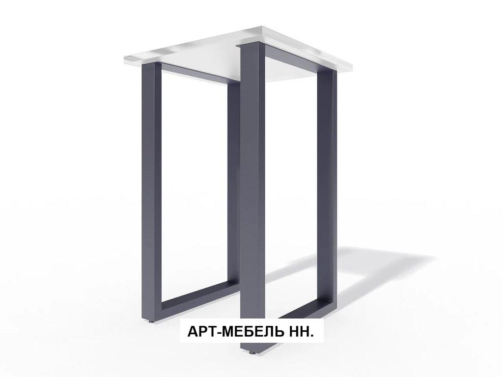 Подстолья для столов.: Подстолье барное 0.40 (чёрный) в АРТ-МЕБЕЛЬ НН