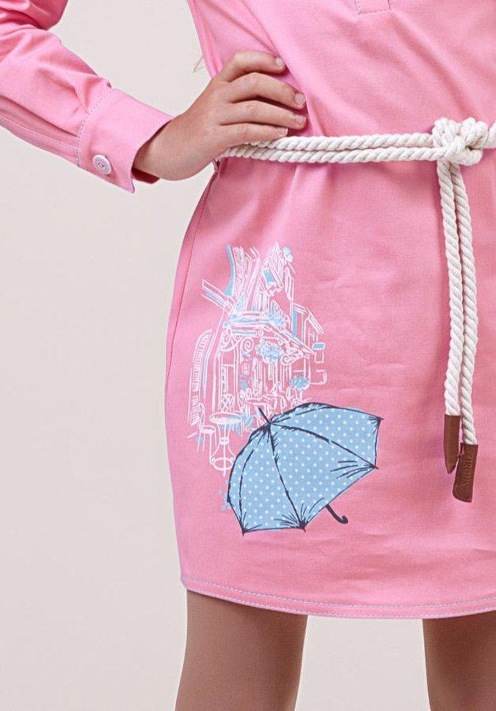 Одежда для девочек: Платье для девочки 38-8021-2 в Детский универмаг