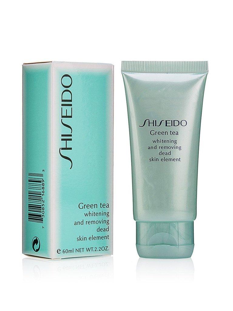 Скрабы, пилинги, скатки: Скатка пилинг Shiseido Green Tea для лица 60мл в Мой флакон