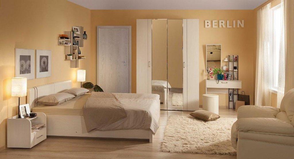 Модульная мебель в спальню BERLIN (Бодега Светлый): Модульная мебель в спальню BERLIN (Бодега Светлый) в Стильная мебель