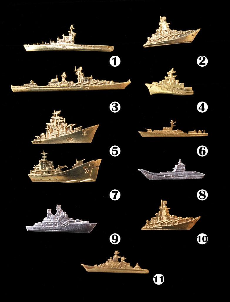 "Знаки и значки: Значки ""Корабли"" в Модели кораблей"