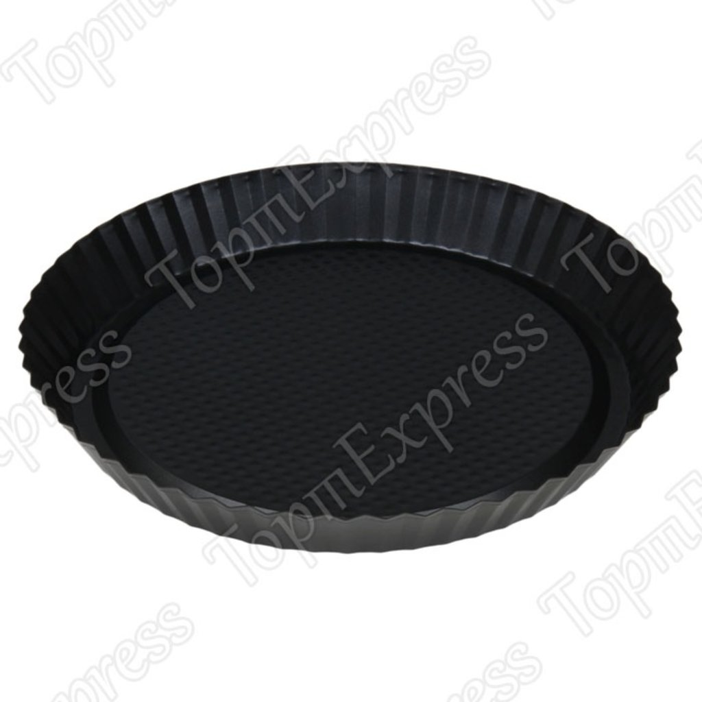 """Металлические и разъёмные формы для выпечки: Форма для выпечки """"Жаклин. Рифленый круг"""" d=27см в ТортExpress"""