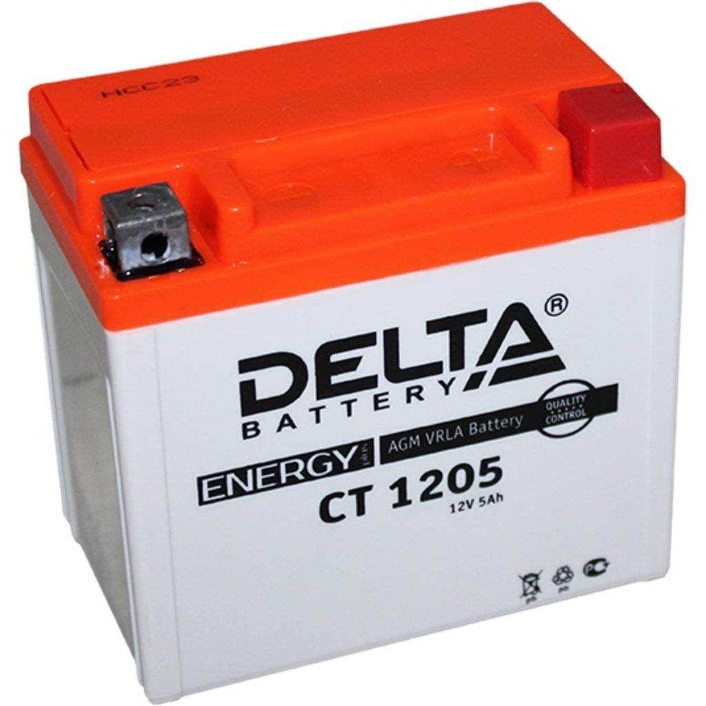 Delta: DELTA CT 1205 5 Ah в БазаАКБ