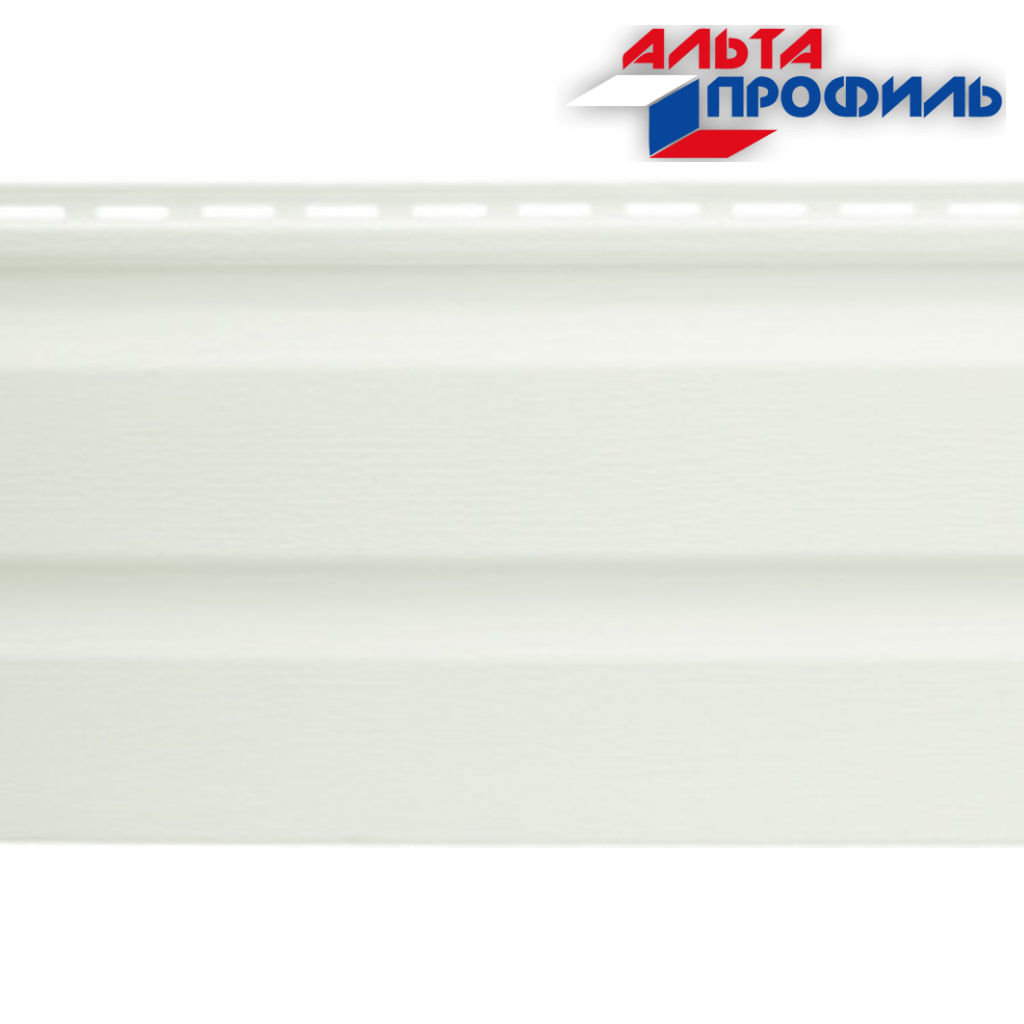 Виниловый Сайдинг: Альта-Сайдинг, виниловый, белый, 3,00м в АНЧАР,  строительные материалы