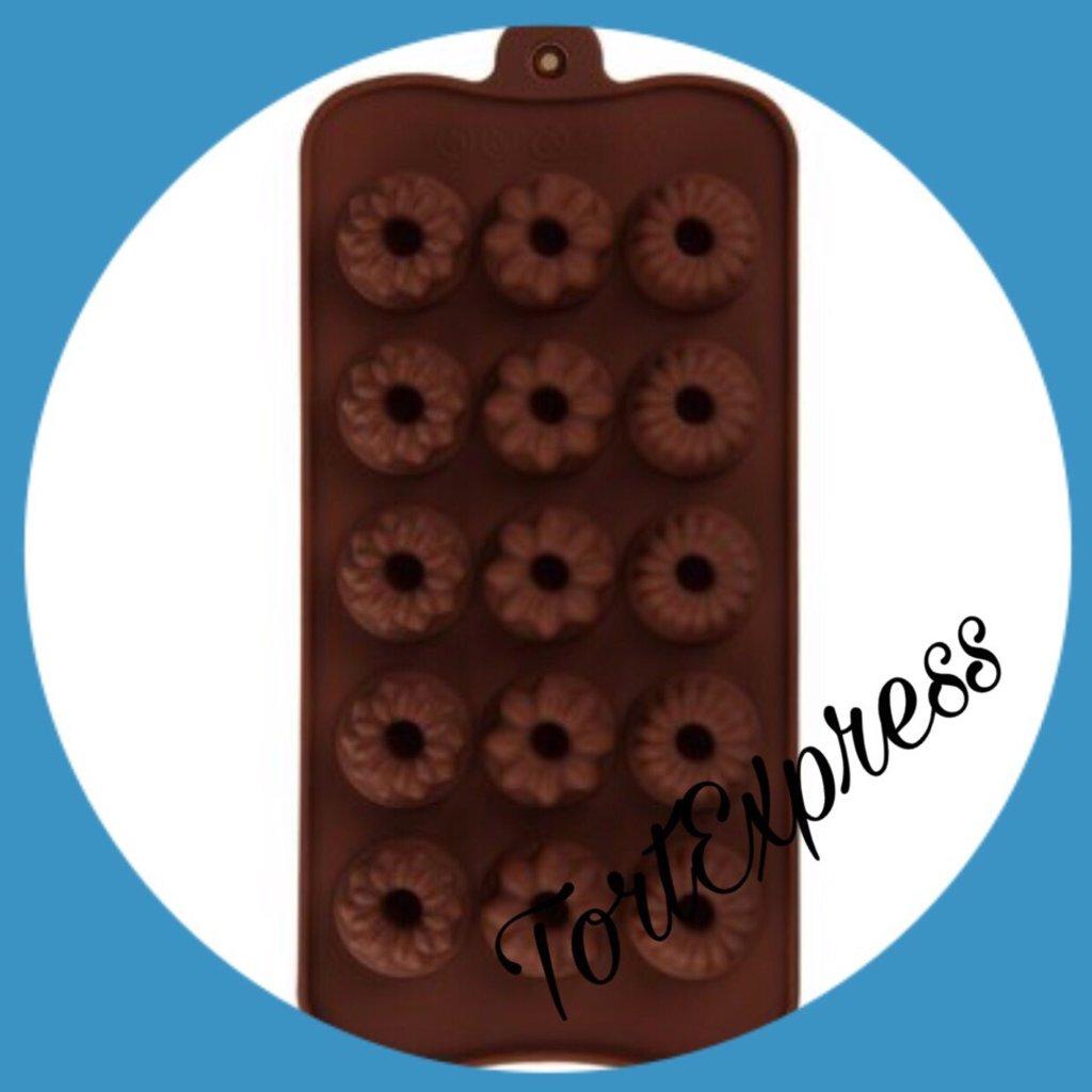 Силиконовые формы для льда, шоколада и мармелада: Силиконовая форма для льда и шоколада в ТортExpress