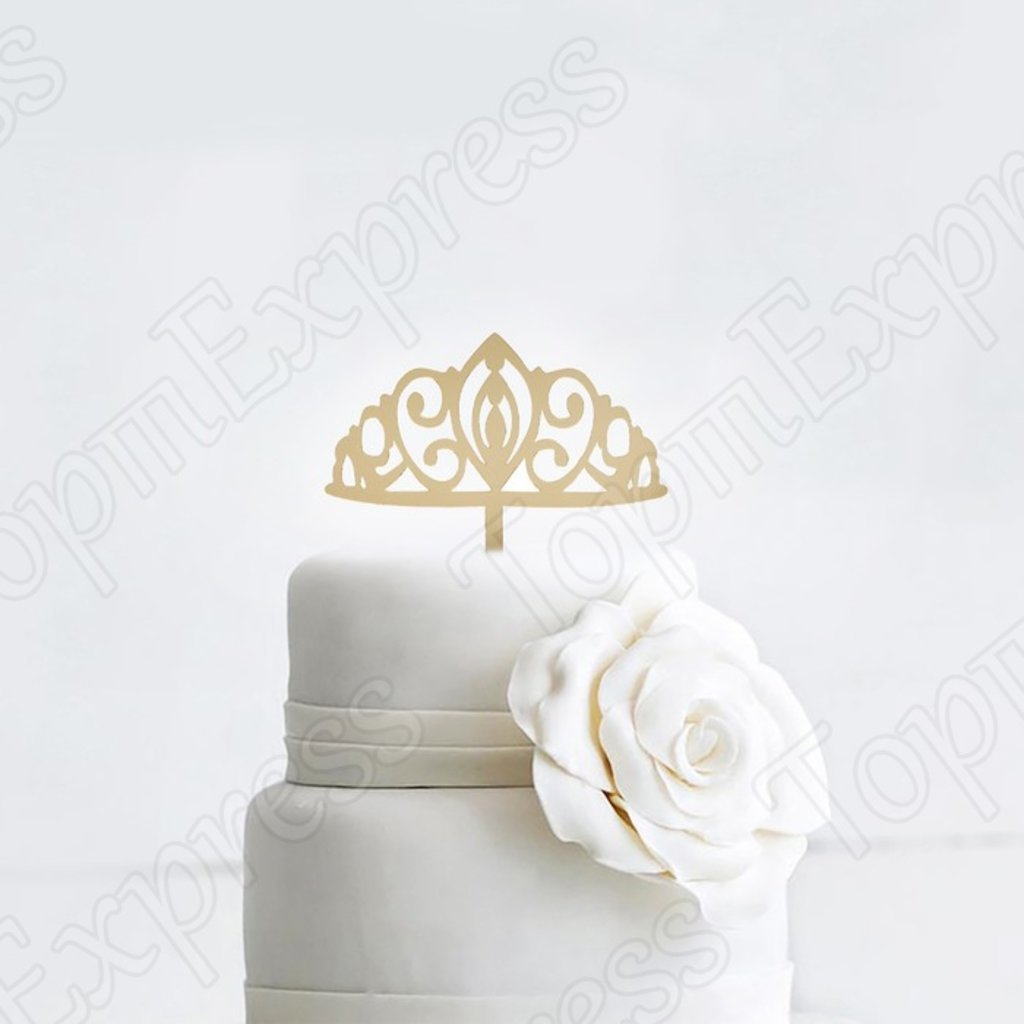 """Разные: Топпер на торт """"Корона""""  цвет золото в ТортExpress"""