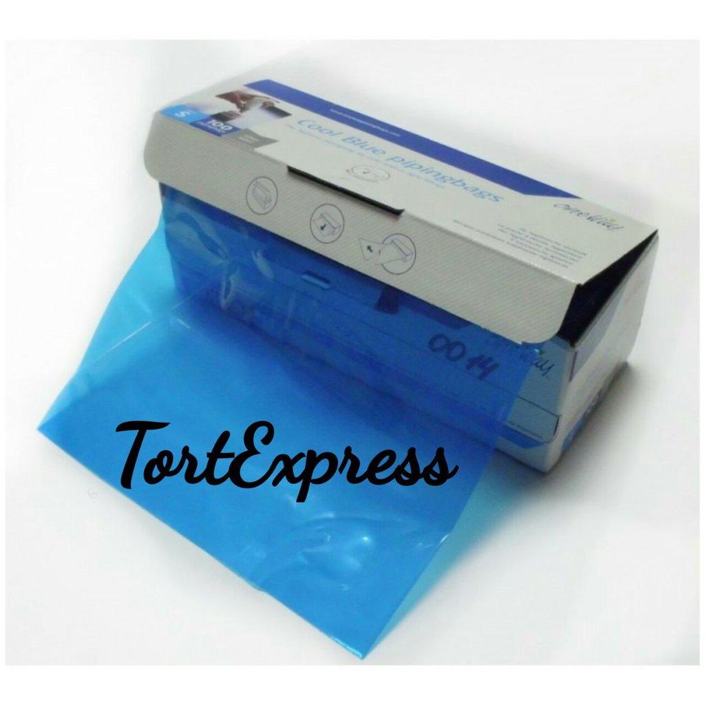 Кондитерский инвентарь: Мешок кондитерский COOL BLUE 36см (упак.2шт) в ТортExpress