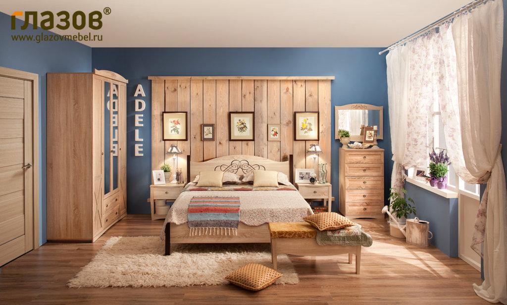 Кровати: Кровать ADELE 4 (1200, орт. осн. дерево) в Стильная мебель