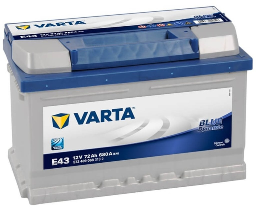 VARTA: Аккумулятор VARTA Blue Dynamic 12V 72Ah в БазаАКБ