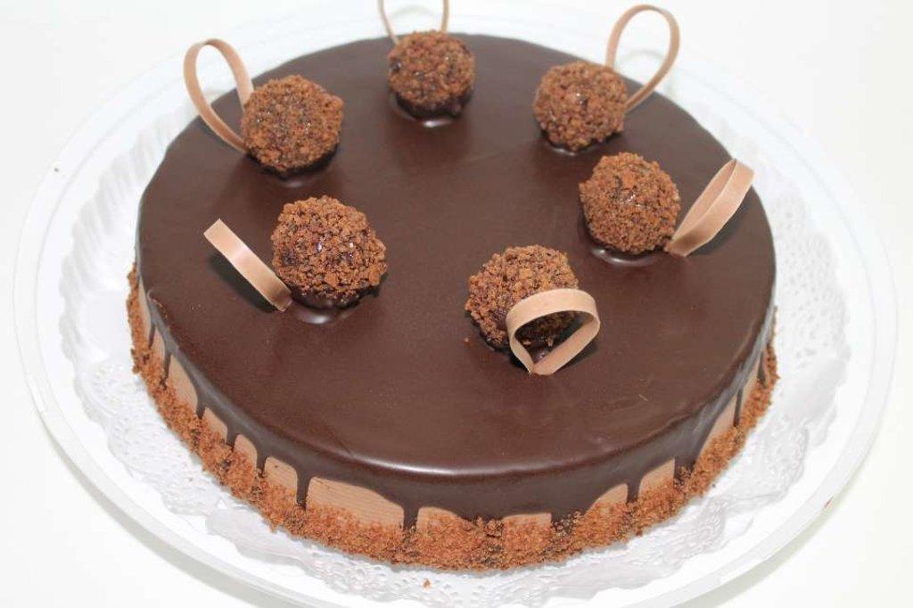 """Торты на заказ: Торт """"Трюфельный"""" в Смак-нк.рф"""