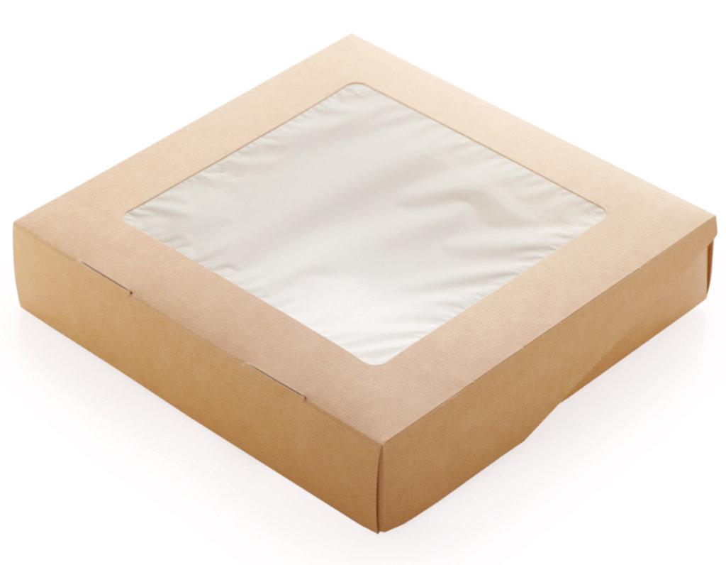 Коробки для кондитерских изделий: Eco TABOX 1500 200*200*40мм. в ТортExpress