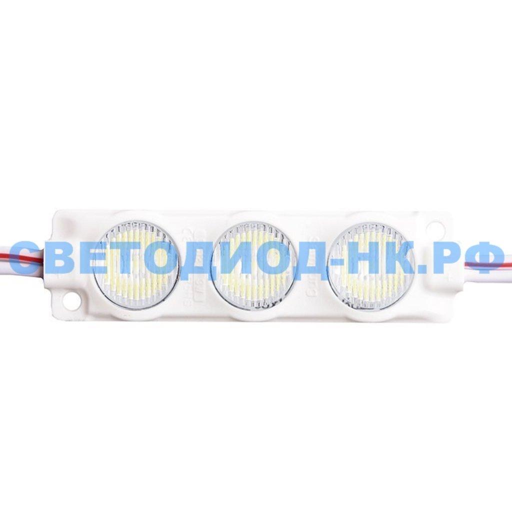 Светодиодные пиксели, модули: Светодиодный модуль  SMD-3030-3L-5500К-LUX-LENS в СВЕТОВОД