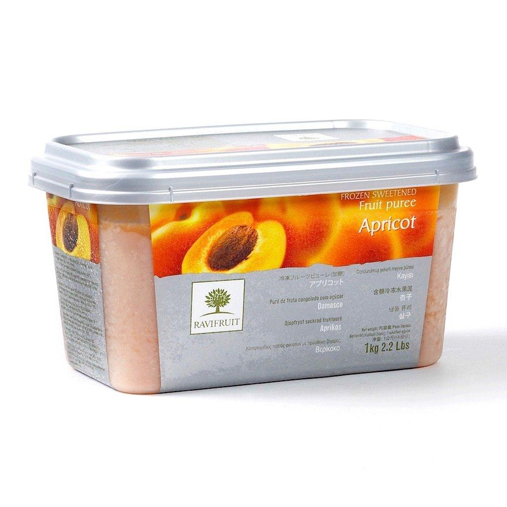Фруктовое пюре: Пюре из Абрикоса Ravifruit 1кг в ТортExpress