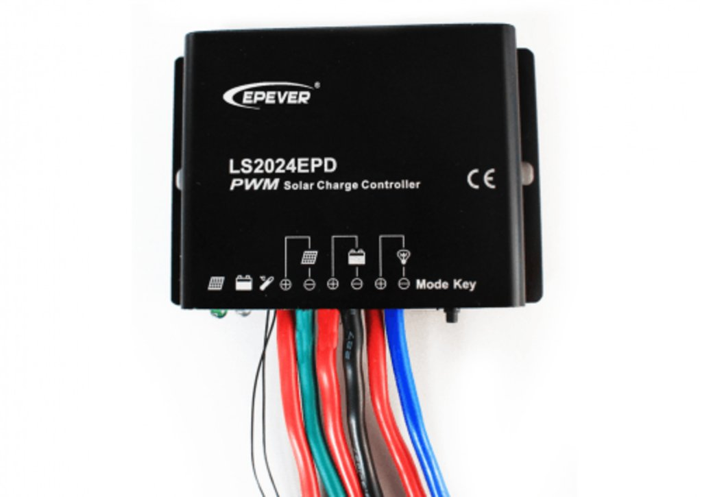 ШИМ контроллеры: Контроллер заряда EPSolar LS2024EPD в Горизонт