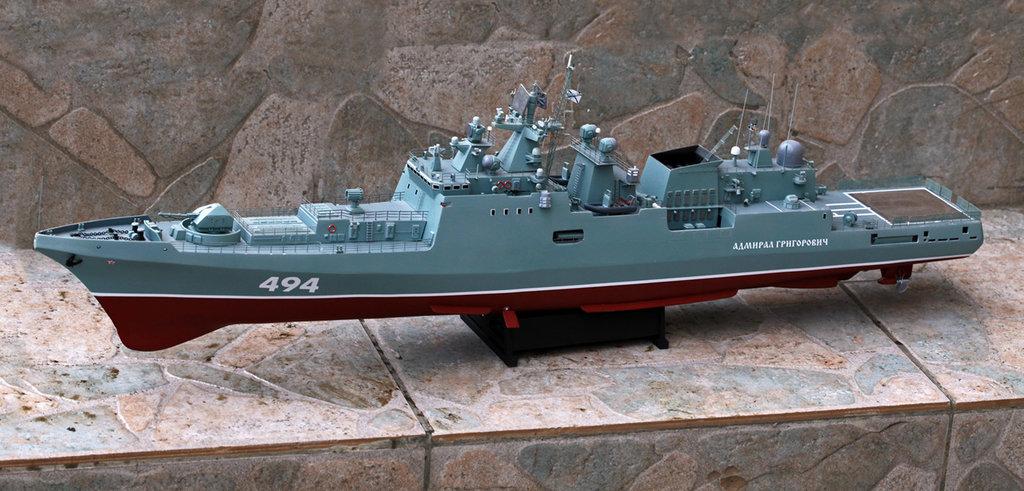 """Модели кораблей: Сторожевой корабль проекта 11356 """"Адмирал  Григорович"""" в Модели кораблей"""