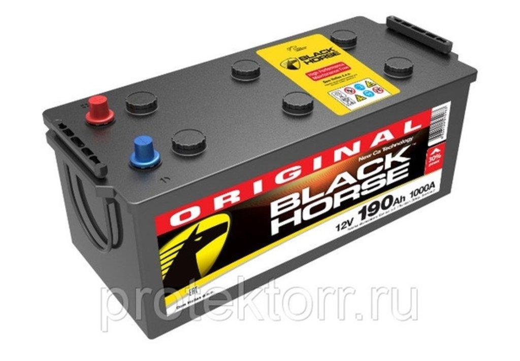 BLACK HORSE: Аккумулятор BLACK HORSE 6CT - 190 в БазаАКБ