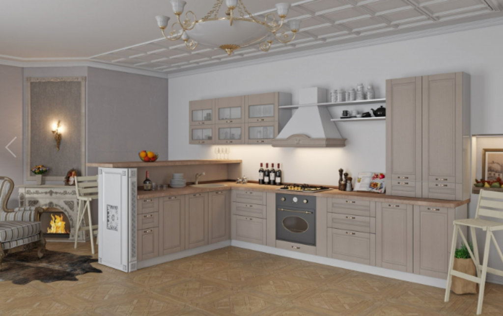 Кухни: модульная кухня Кантри в Уютный дом