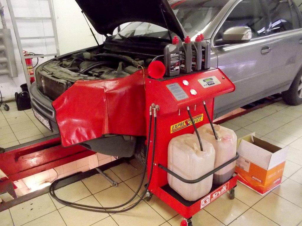 Ремонт автомобиля: Замена масла в АКПП в АВТО-СТАНДАРТ, ОАО