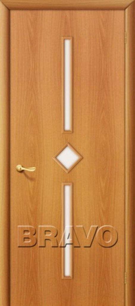 Двери ламинированные BRAVO: 9С Л-12 (МиланОрех) в STEKLOMASTER