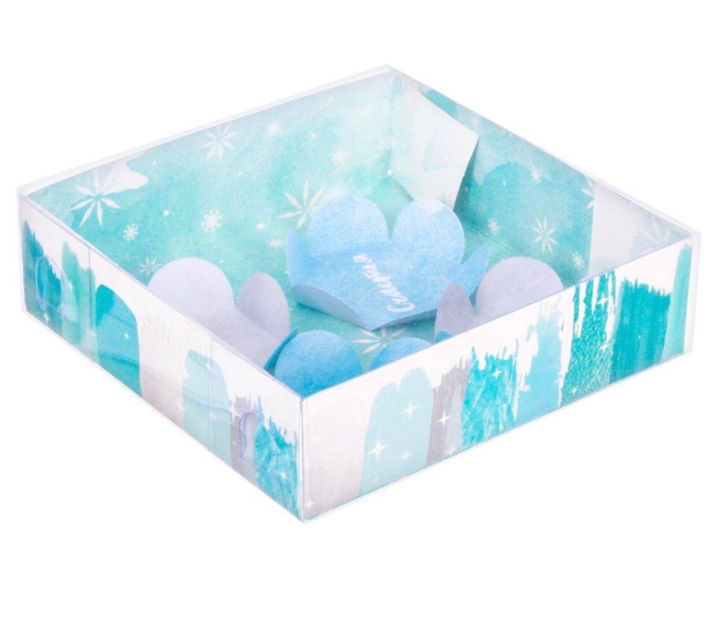 Упаковка: Коробка для макарун «Место для сказки» в ТортExpress