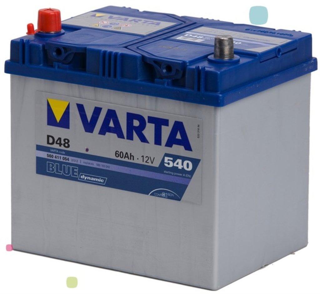VARTA: VARTA Blue Dynamic 12V 60Ah 540A в БазаАКБ