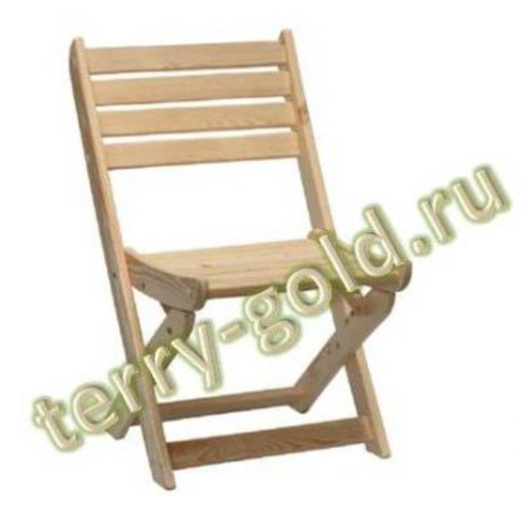 Садовая и пляжная мебель, общее: Стул складной в Terry-Gold (Терри-Голд), погонажные изделия