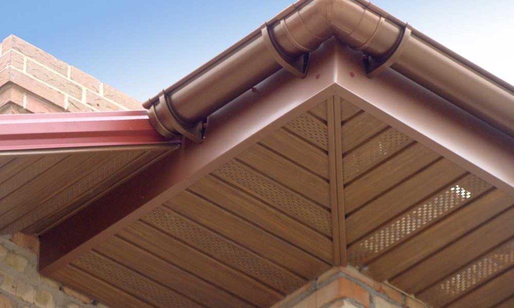 Фасадные работы: Подшивка карнизных, фронтонных свесов в FloMASTER, ООО