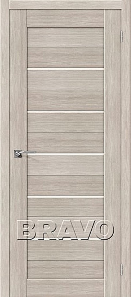 Двери экошпон BRAVO: Порта-22С Cappuccino Veralinga в STEKLOMASTER