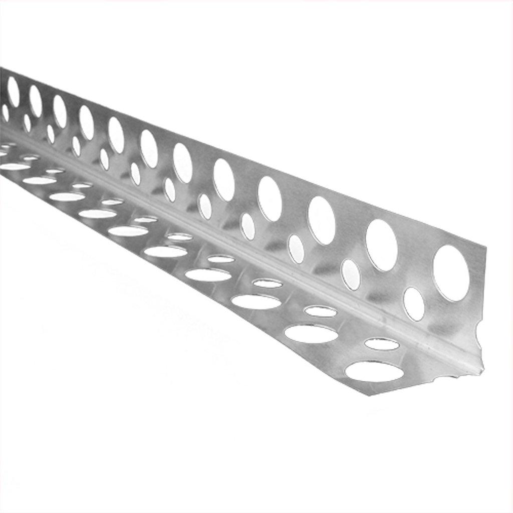 Профиль гипсокартонный: Профиль перфорированный угловой П-20 в 100 пудов