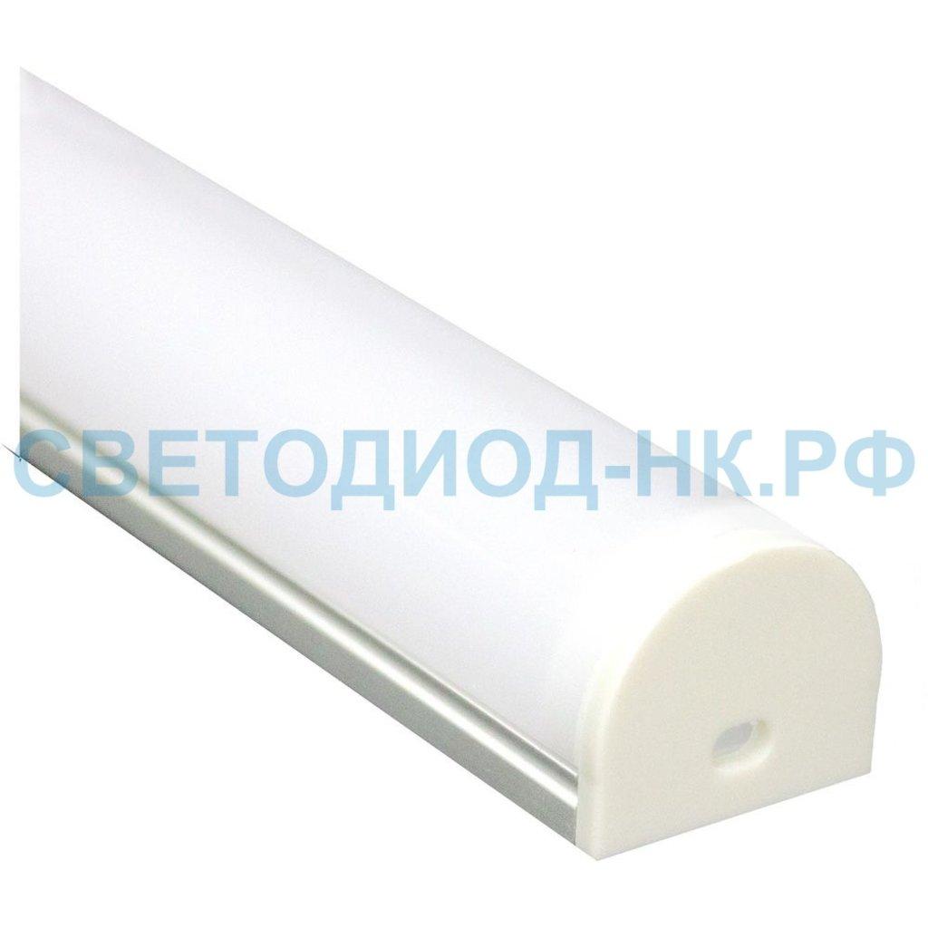Алюминиевый профиль: Профиль для светодиодной ленты CAB283 в СВЕТОВОД