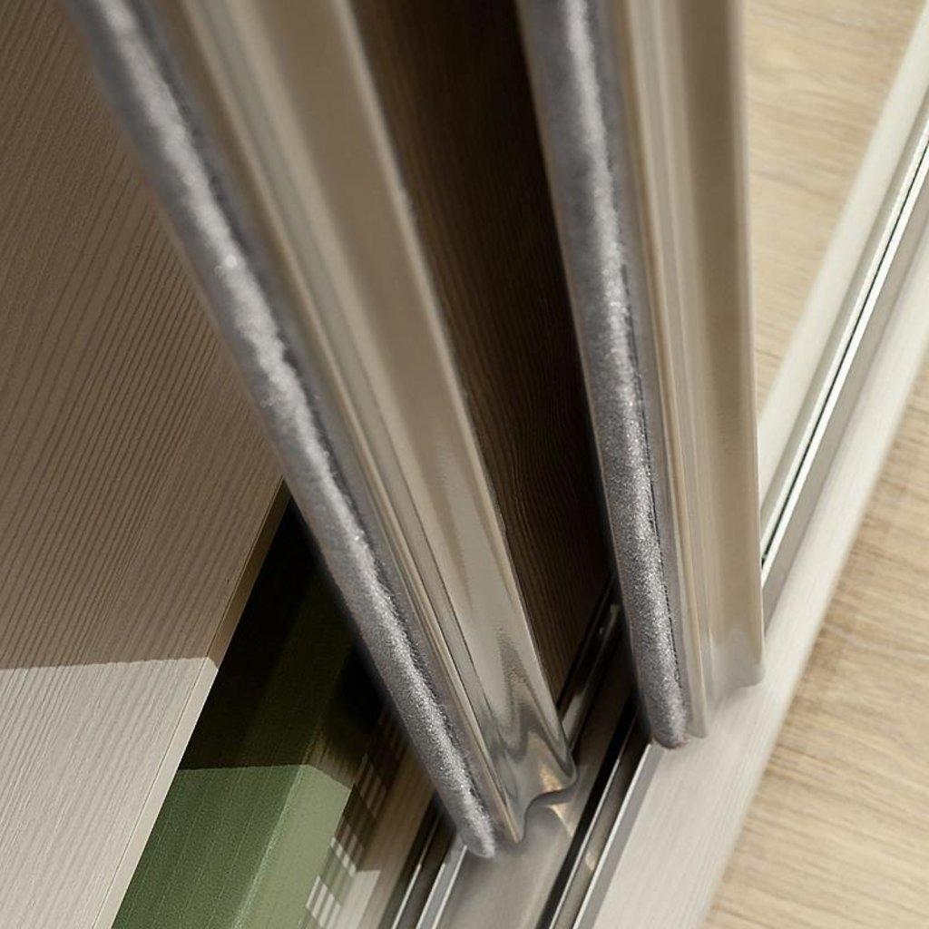 Мебельные направляющие и комплектующие: Шлегель (комплект щеток) к Шкаф-купе Домашний 101 в Стильная мебель