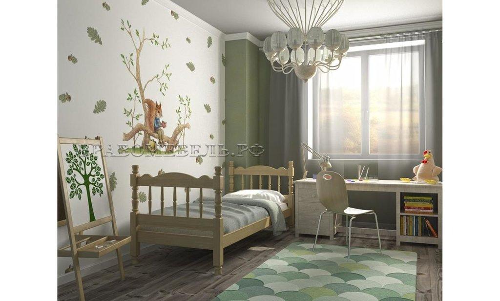 Детская одинарная кровать Алёнка: Детская одинарная кровать Алёнка в Уютный дом