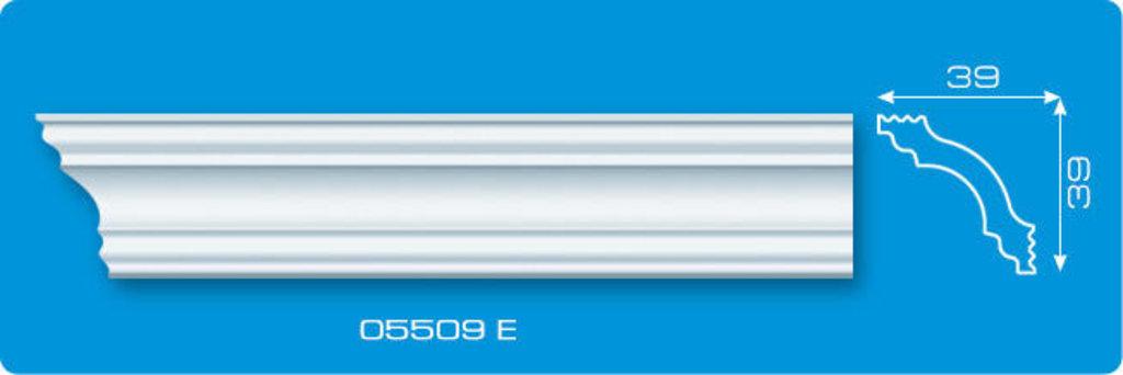 Плинтуса потолочные: Плинтус потолочный ФОРМАТ 05509 Е экструзионный длина 2м в Мир Потолков