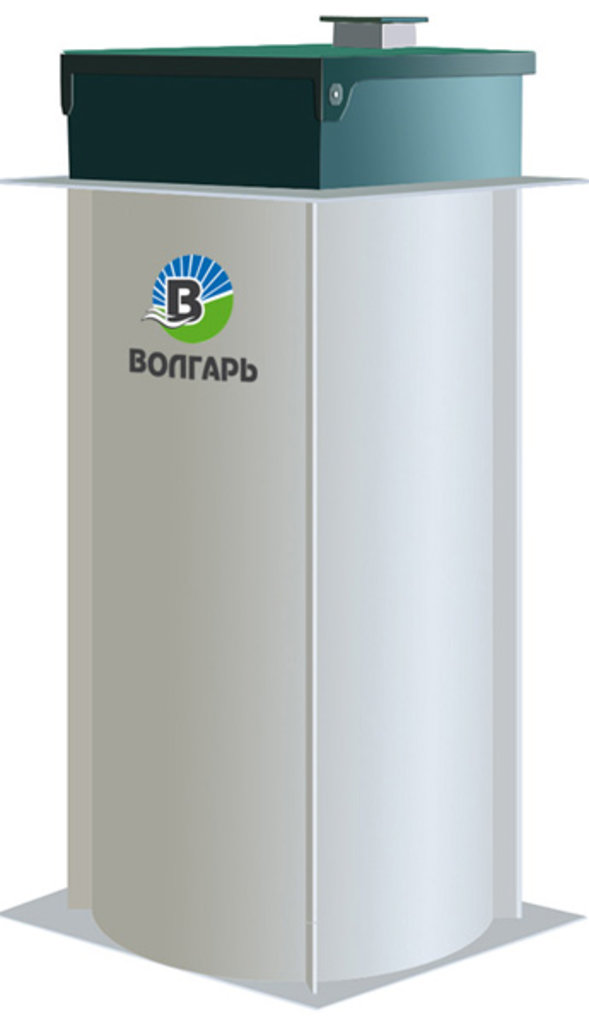 Септики «Волгарь»: Септик ВОЛГАРЬ 8-2500-С в Аквамарин, бурение скважин на воду в Вологде