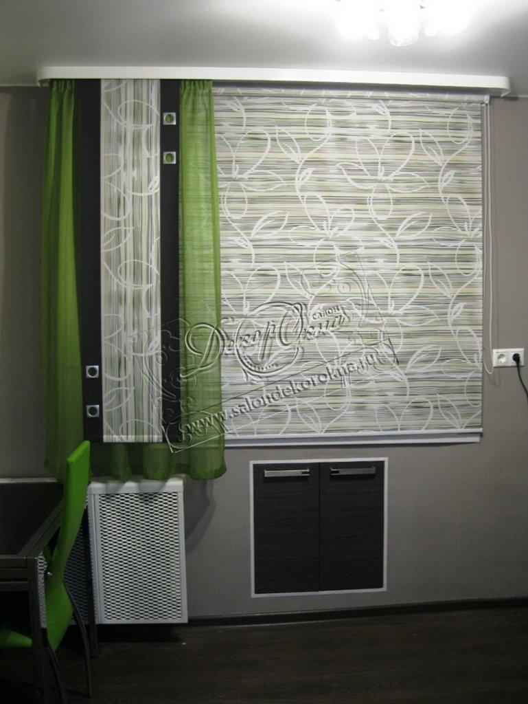 Рулонные шторы: Рулонные шторы система Стандарт в Декор окна, салон