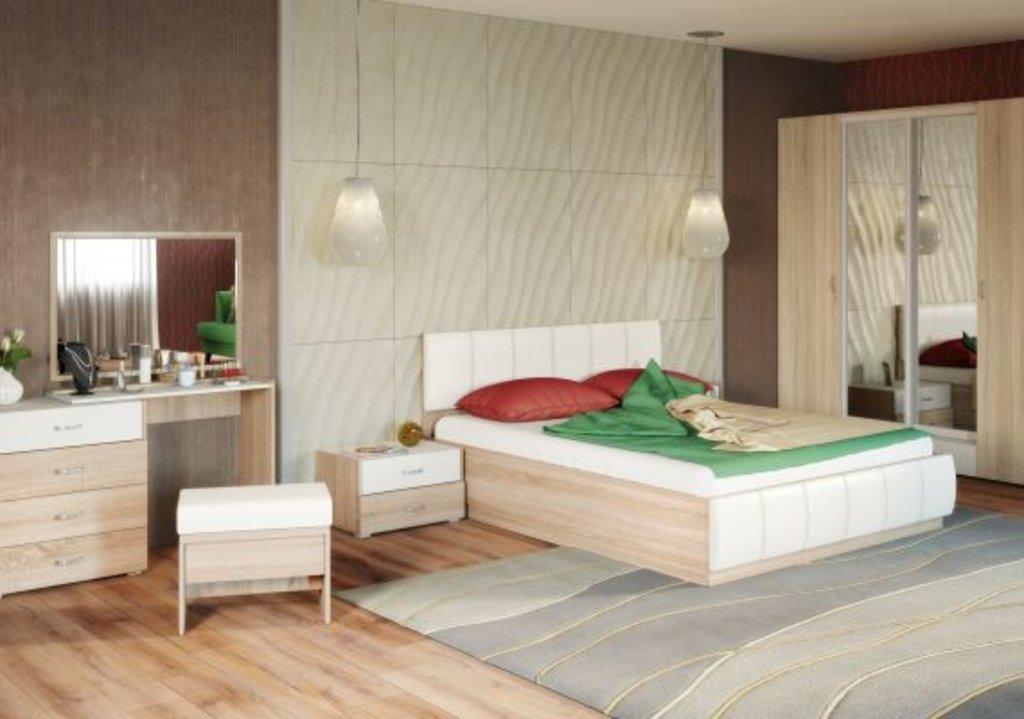 Мебель для спальных комнат, общее: Линда в Мебель ХИТ