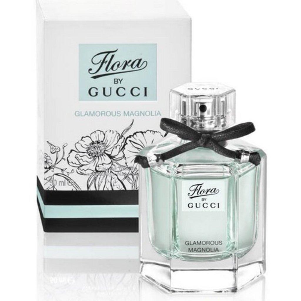 Женская туалетная вода Gucci: Gucci Flora Glamorous Magnolia Туалетная вода edt ж 50 ml в Элит-парфюм