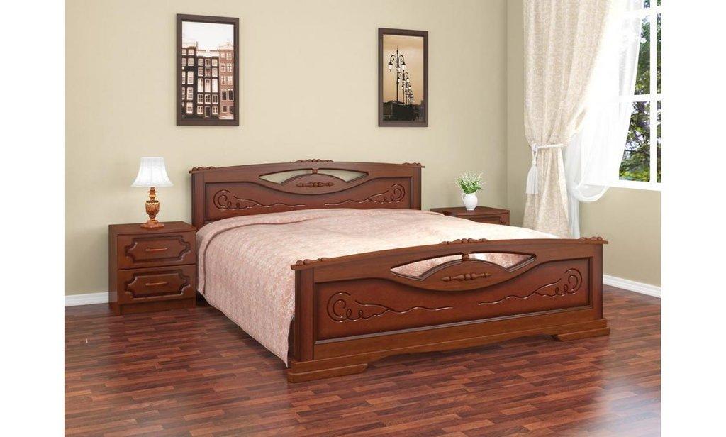 Кровати: Кровать Елена-2 (массив) в Уютный дом