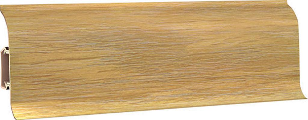 Плинтуса напольные: Плинтус напольный 60 ДП МК полуматовый 6076 дуб бургунд в Мир Потолков