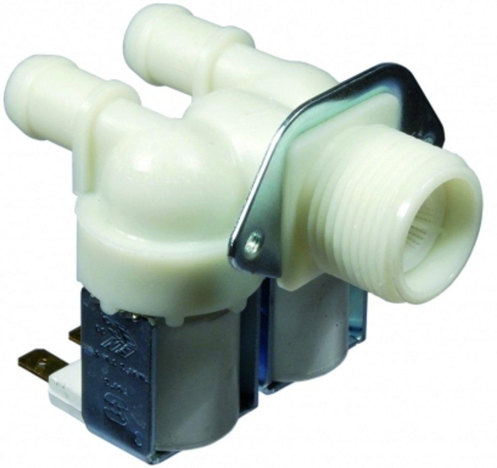 Клапана электрические наливные (КЭН): Электроклапан (клапан наливной электромагнитный - КЭН) 2Wx180 для промышленных стиральных машин Dвых -14мм в АНС ПРОЕКТ, ООО, Сервисный центр